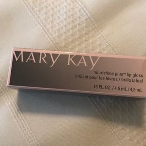 Mary Kay Nourishine plus lip gloss.